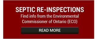 Septic Re-Inspections